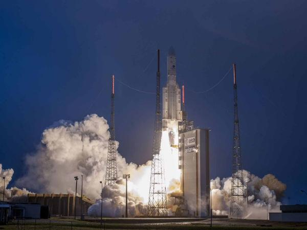 India's 40th Communication Satellite GSAT-31 Launched Successfully From French Guiana