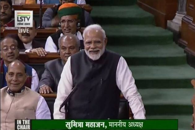 People Don't Want <em>Mahamilavat</em> Govt: PM Modi's Jibe At Opposition Alliance In LS