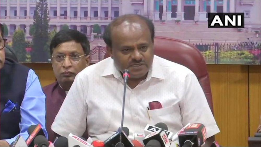 Karnataka Budget: BJP MLAs Walk Out As Kumaraswamy Starts Speech