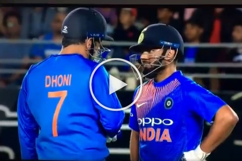 New Zealand Vs India: Rishabh Pant Gets Hands-On Learning From Master MS Dhoni – VIDEO