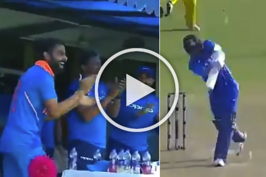 Jasprit Bumrah Hits Last Ball For Mighty Six, Triggers Euphoric Celebration – WATCH