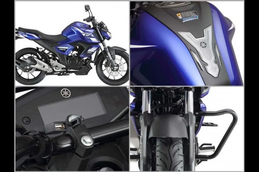 Yamaha FZ Version 3.0 Official Accessories Launched: Engine Guard, USB Charger And More