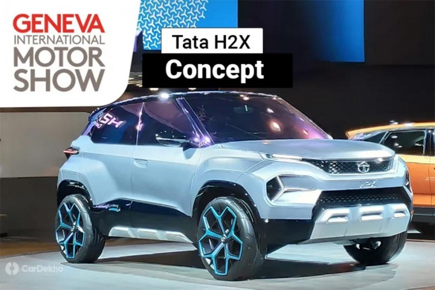 Production-Spec Tata H2X Micro SUV To Debut At 2020 Auto Expo
