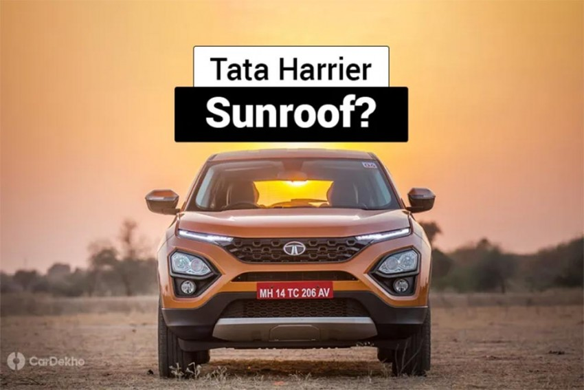 Tata To Offer Sunroof On Harrier, Buzzard & Others In Future