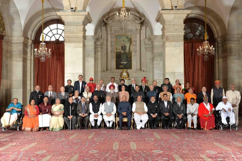 President Kovind Confers Padma Awards On 47 'Inspiring' Personalities