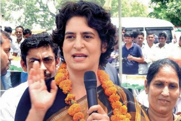 Here's What Priyanka Gandhi Tweeted  For The First Time