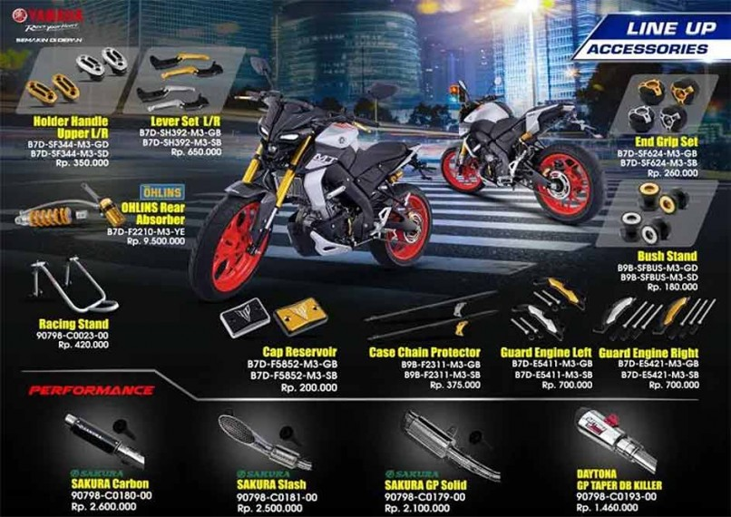 Check Out These Cool Accessories For The Yamaha MT-15