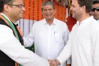 B C Khanduri's Son Joins Congress