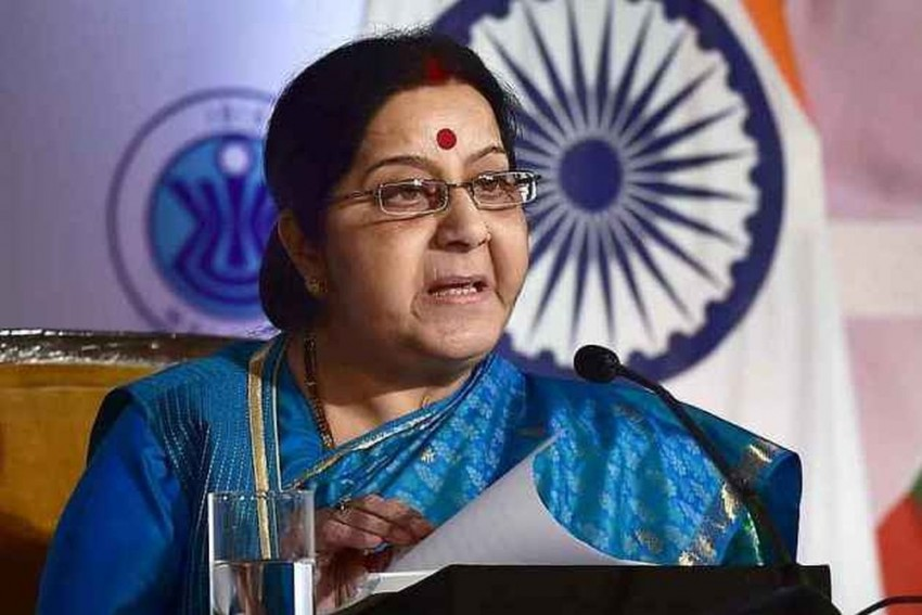 Sushma Swaraj Speaks To French Counterpart On Anti-terror Cooperation