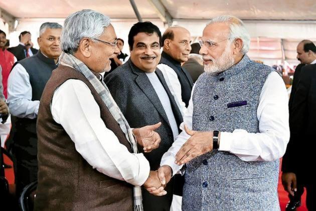NDA Announces Seat Sharing For Bihar, BJP-JD(U) To Contest On 17 Seats Each, LJP Gets 6