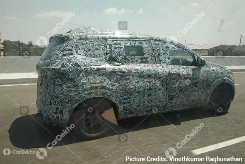 Renault Kwid-Based MPV Spied Again; July Launch Likely