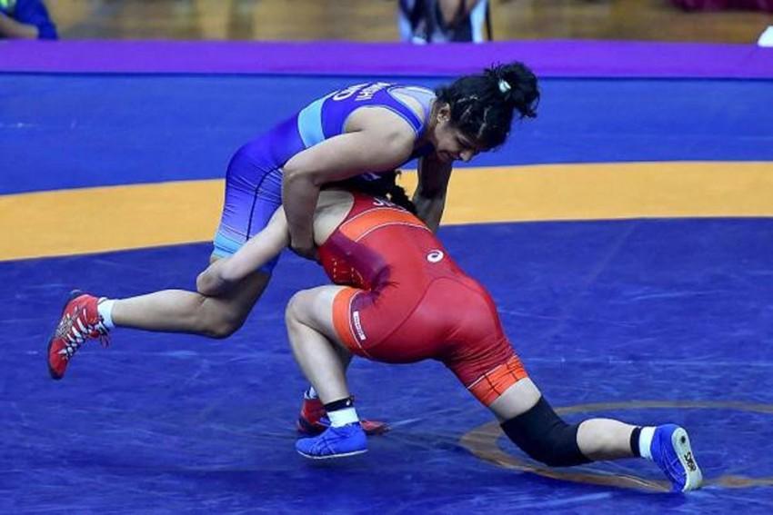 Pooja Dhanda Wins Gold, Sakshi Malik Settles For Silver In Bulgaria