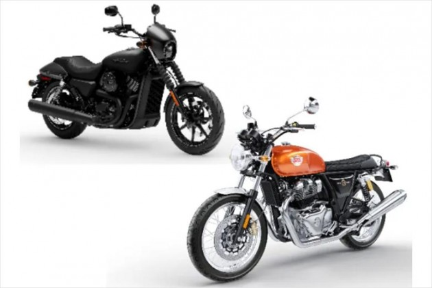 Royal Enfield Interceptor 650 Vs Harley Davidson Street 750 Real