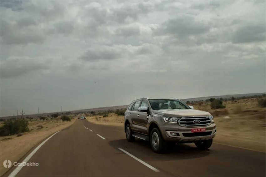 2019 Ford Endeavour Mileage: Claimed Vs Real