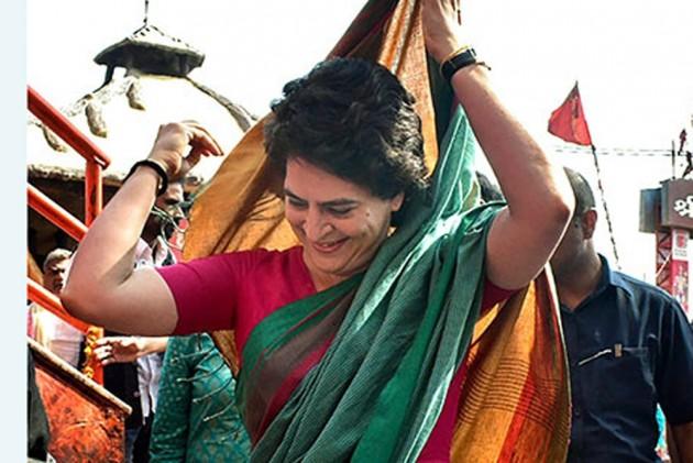 BJP, Congress Workers Fight As Priyanka Gandhi Visits Varanasi