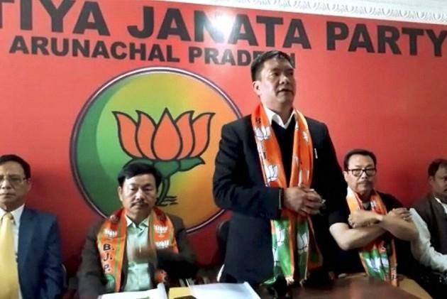 Setback To BJP In Arunachal Pradesh, 15 Leaders Quit, Join NPP