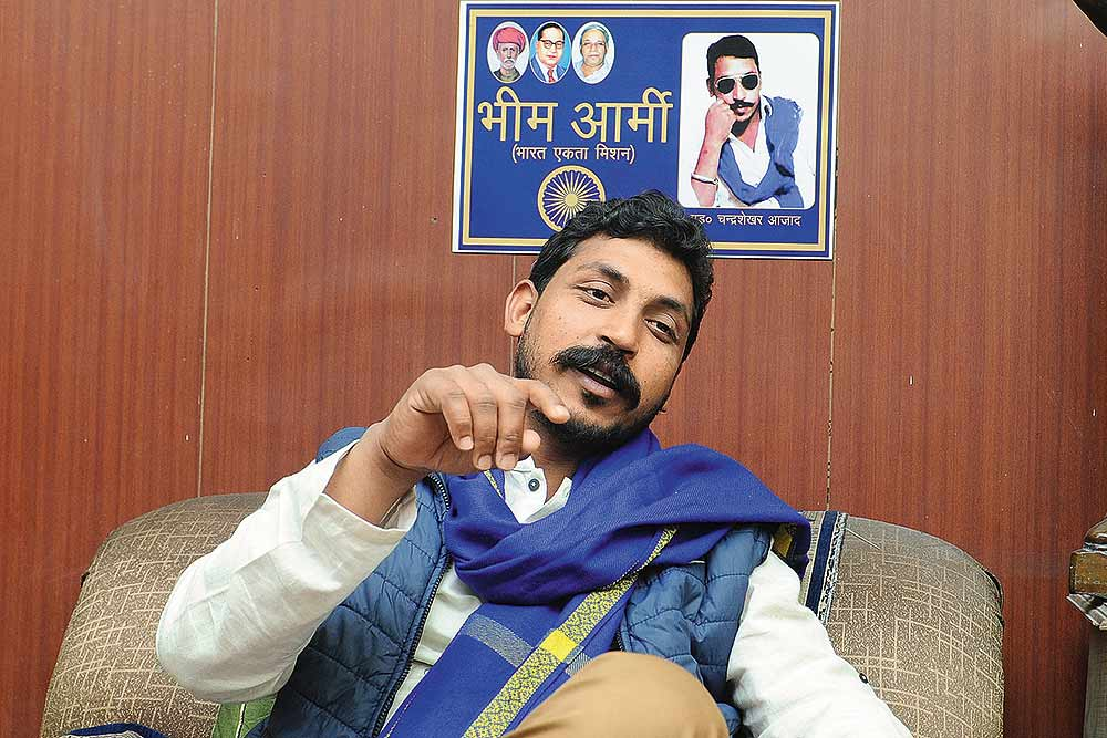 Bhim Army Won't Go With Congress: Chandrashekhar Azad