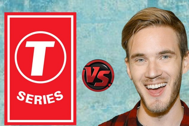 bf08e24cd It's Advantage T-Series As Youtube War With PewDiePie Continues