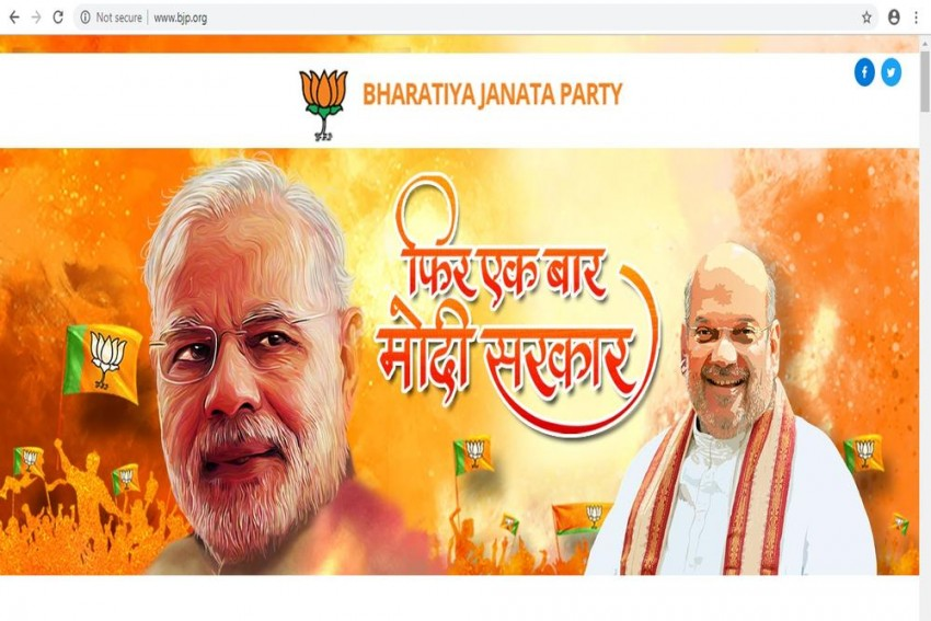 BJP Website Now Out Of 'Maintenance Mode' Two Weeks After Hacking