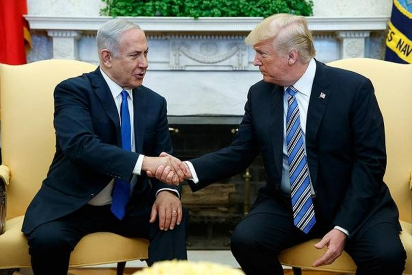 Weeks Before Elections In Israel, Trump Accepts It's Sovereignty Over Golan Heights