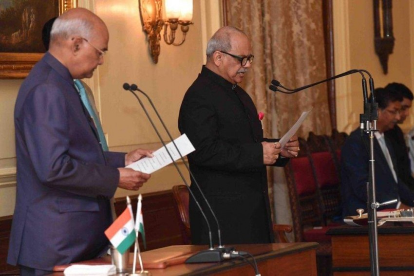 Justice Ghose Takes Oath As First Lokpal Chief