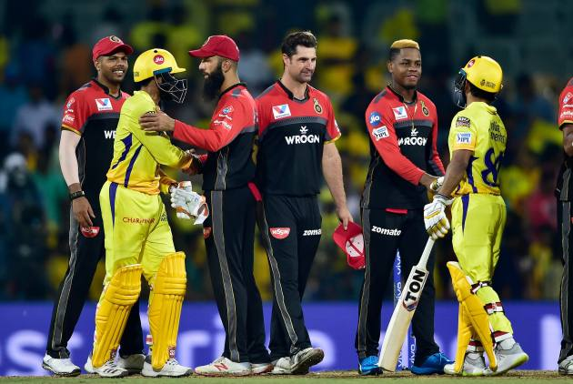 Chennai Super Kings Rout Royal Challengers Bangalore In Ipl