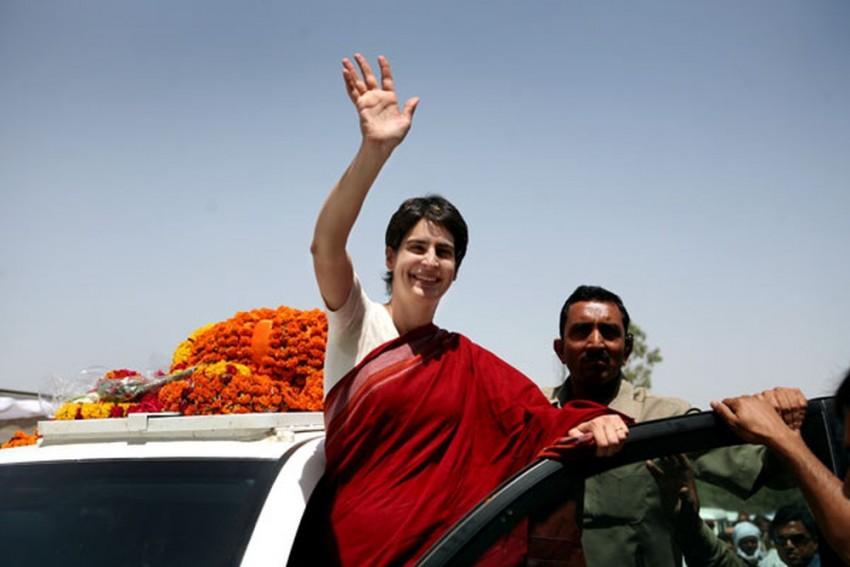 Priyanka Gandhi Attacks BJP Over Plight Of Contractual Teachers In UP