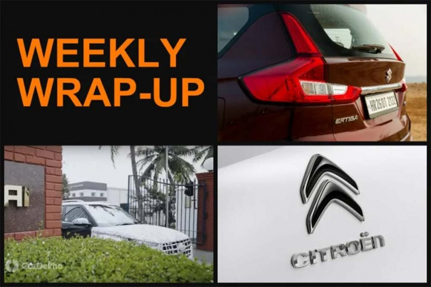 Weekly Wrap-Up: Spy Pics Of MG Hector & Kia SP2i, Hyundai QXi Teased & More