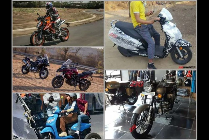 Top 5 Motorcycle News Of The Week: New Honda Activa Spied, Royal Enfield Classic 350 Accessories & More!