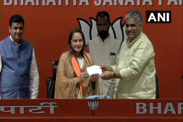 Actor-Turned-Politician Jaya Prada Joins BJP, Likely To Contest From Rampur