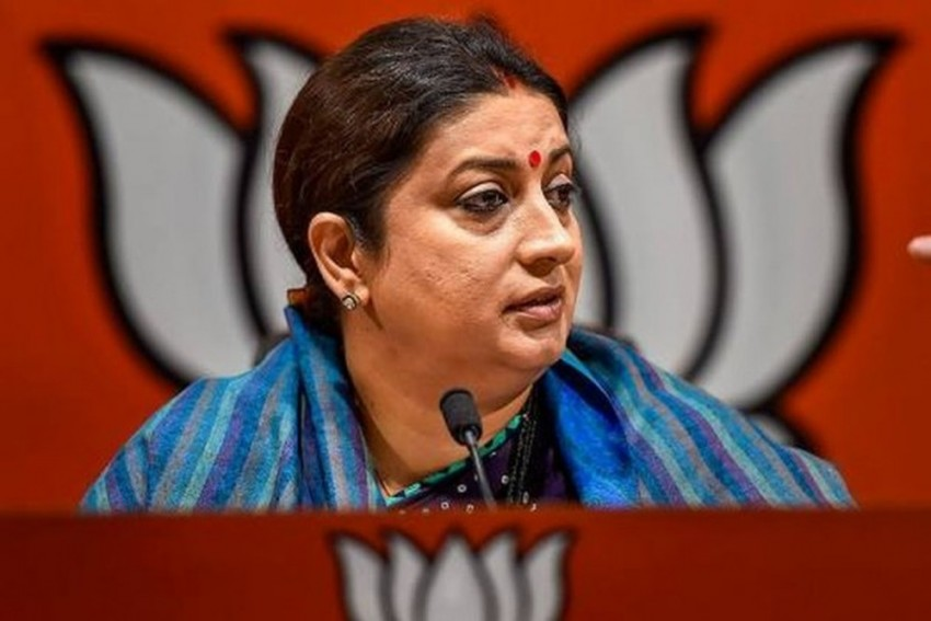Congress Refused Lord Ram's Existence, Now Turned Into 'Ram Bhakts': Smriti Irani