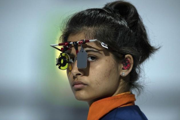 Asian Airgun Championships: Manu Bhaker, Saurabh Chaudhary Create World Record
