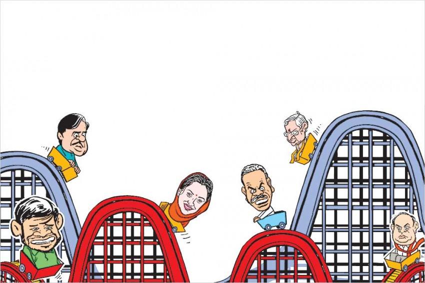 Congress' (A) and (I) Teams In Kerala