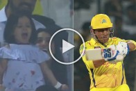 IPL 2019: Ziva Dhoni Screams At The Peak Of Her Voice To Cheer Dad MS Dhoni