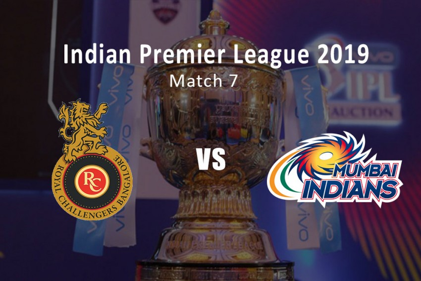 IPL 2019, Royal Challengers Bangalore Vs Mumbai Indians – As It Happened...