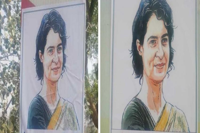 <em>'Kya Khoob Thagti Ho, Kyun 5 Saal Baad Hi Dikhti Ho'</em> Posters Slamming Priyanka Gandhi Surface In Raebareli
