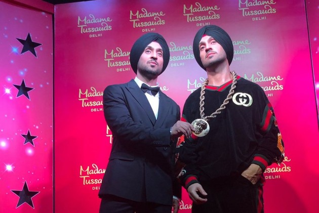 Diljit Dosanjh Unveils His Wax Statue At Delhi's Madame Tussauds, Says It's A Dream Come True