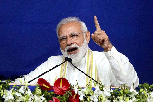 Land, Space Or Sky, 'Chowkidar' Govt Has Shown Courage To Conduct Surgical Strikes: PM Modi