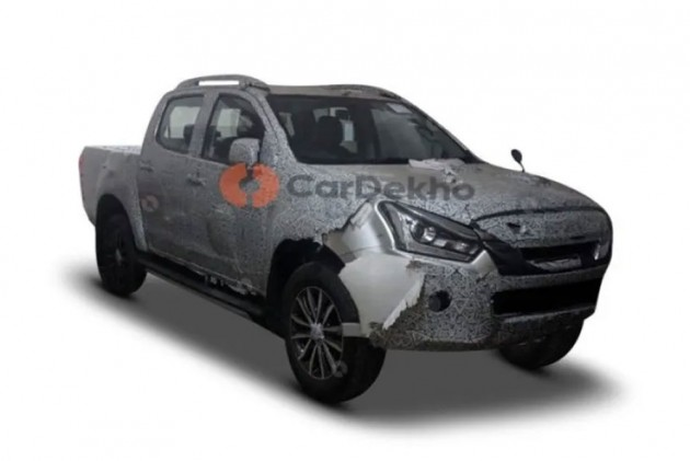 Spied: 2019 Isuzu D-Max V-Cross 1.9D 4x4 To Get Automatic Transmission, Premium Features