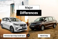 Ertiga Suzuki Sport (Indonesia) vs Maruti Ertiga: Major Differences