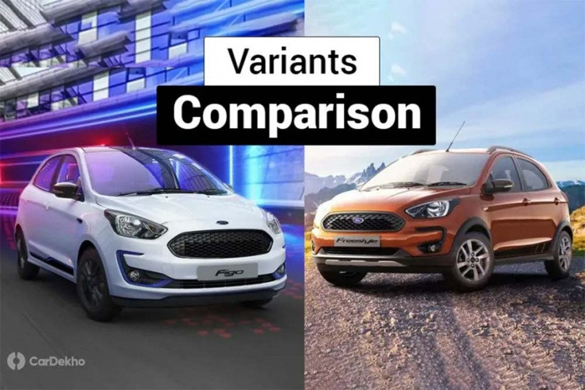 2019 Ford Figo vs Ford Freestyle: Variants Comparison