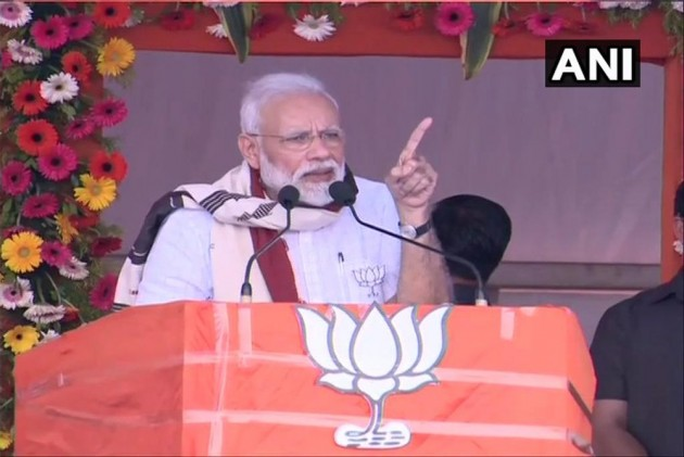 PM Modi Launches LS Polls Campaign In Odisha, Says Govt Has Taken Measures To Set Up 'Chowkidar' In Space