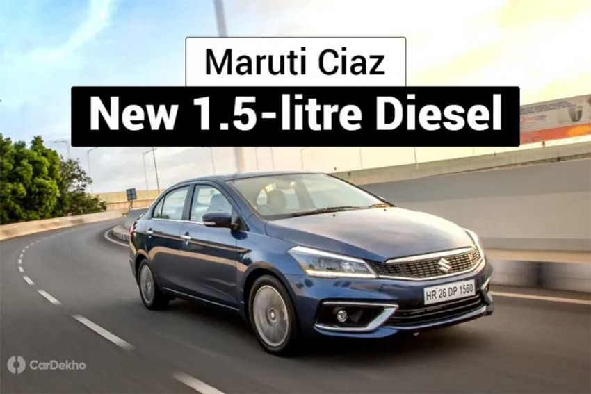 Maruti Ciaz 1.5 Diesel Launched; Priced From Rs 9.97 Lakh