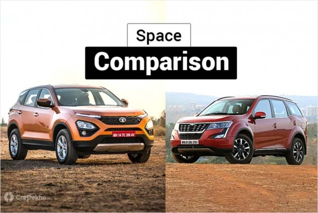 Tata Harrier vs Mahindra XUV500: Which SUV Offers More Space?