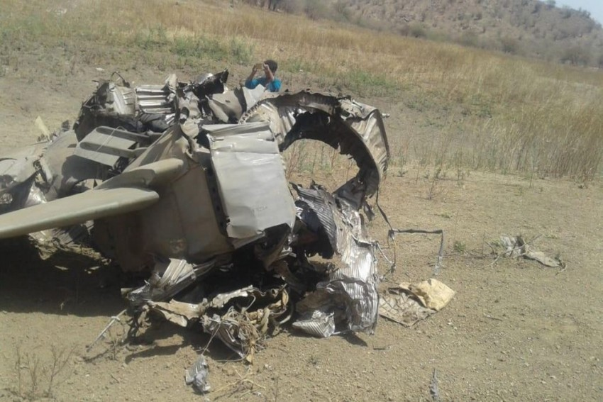 MiG 27 Aircraft Of Indian Air Force Crashes Near Jodhpur