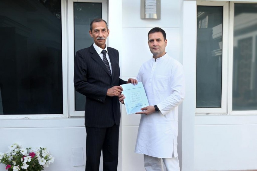 D S Hooda, Man Behind Surgical Strikes, Submits Security Report To Rahul Gandhi