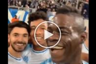 WATCH: Mario Balotelli Posts Goal Celebration Video On Social Media Mid-Match
