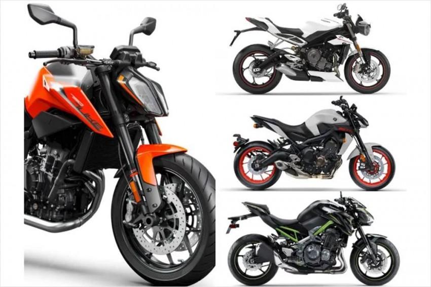 KTM 790 Duke Vs Triumph Street Triple RS Vs Yamaha MT-09 Vs Kawasaki Z900: Spec Comparo