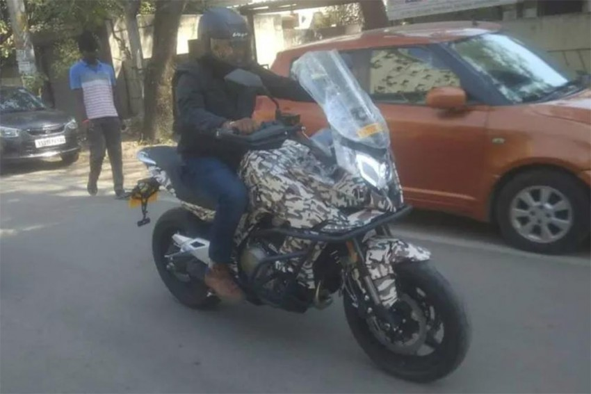 CFMoto 650MT Spotted In India