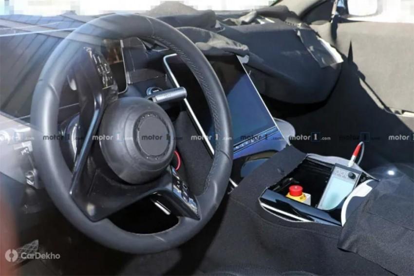 2020 Mercedes-Benz S-Class Interior Spied